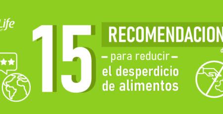 15 recomendaciones para evitar el desperdicio de alimentos